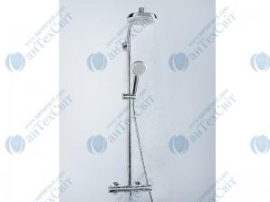 Душевая система HANSGROHE Crometta 100 Showerpipe EcoSmart 27265400