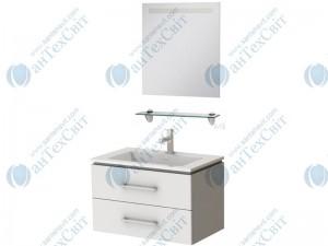 Комплект мебели ЮВЕНТА Zlata 85 белый (Zl - 85 белая + СВЗ-80)
