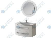 Коплект мебели BOTTICELLI Vanessa 90 white (Vn-90 white + VnМ white)