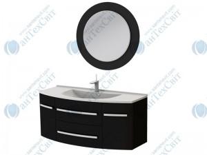 Коплект мебели BOTTICELLI Vanessa 120 black (Vn-120 black + VnМ black)