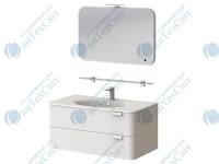 Коплект мебели BOTTICELLI Velluto 80 white (VLT-80 white + VltM-80)