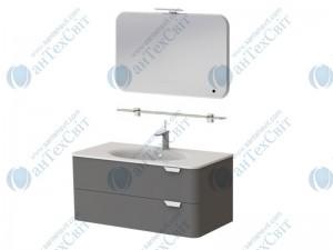Коплект мебели BOTTICELLI Velluto 80 grey (VLT-80 grey + VltM-80)