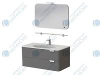Коплект мебели BOTTICELLI Velluto 100 grey (VLT-100 grey + VltM-100)