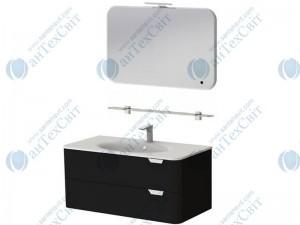 Коплект мебели BOTTICELLI Velluto 100 black (VLT-100 black + VltM-100)