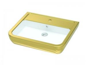 Умывальник IDEVIT Halley 60 (3201-0455-11) золото