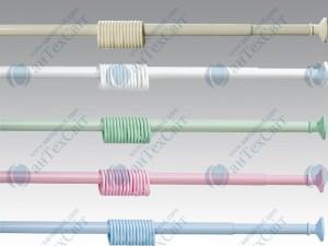 Карниз для шторок с 12-ю кольцами МAX-PLAST 240 (5801)