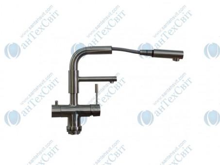 Кухонный смеситель ZORG Sanitary SZR 1068 P-D-1