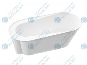 Мраморная ванна MARMORIN 156*73 Alta (667 156 020 xx x) с крышкой