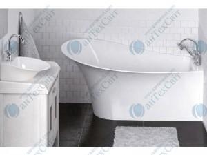 Мраморная ванна MARMORIN 155,3*91,6  Misa (634 155 920 хх х) левая