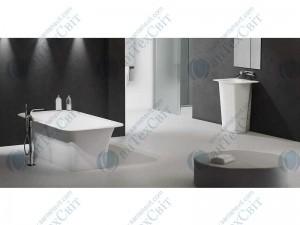 Мраморная ванна MARMORIN 179*89 Tytan (587 180 020 xx x)