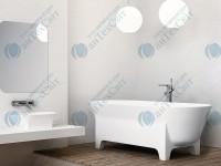 Мраморная ванна MARMORIN 171*75,5 Liva (555 170 020 xx x)