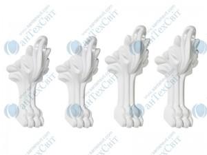 Ножки MARMORIN для ванны Fama (566 016 xx x) белые