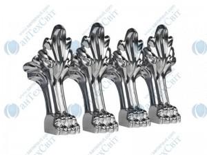 Ножки MARMORIN для ванны Fama (566 016 CH) хром