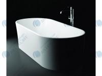 Мраморная ванна MARMORIN 169*68,5 Wega (P 515 170 020 010)
