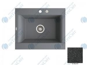 Гранитная мойка MARMORIN Voga II (712103002) black