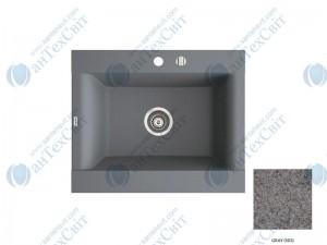 Гранитная мойка MARMORIN Voga II (712103003) gray