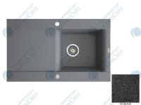 Гранитная мойка MARMORIN Voga II (712113002) black