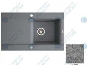 Гранитная мойка MARMORIN Voga II (712113003) gray