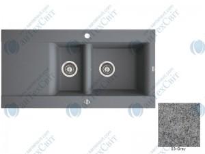 Гранитная мойка MARMORIN Voga II (712513003) gray