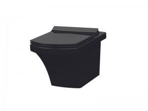 Чаша подвесного унитаза IDEVIT Vega с сиденьем Ultra Slim Soft Close (2804-0606-07 + 53-02-06-004)
