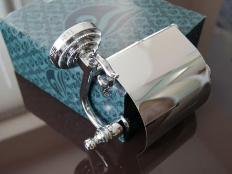 Держатель для туалетной бумаги KUGU Versace 211C