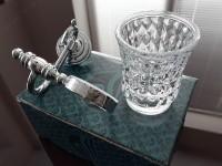 Стакан для зубных щеток KUGU Versace 206C