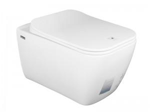Чаша подвесного унитаза IDEVIT Halley с функцией биде и сиденьем Ultra Slim Soft Close (3204-2615 + 53-02-06-009)