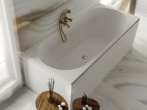 Мраморная ванна MIRAGGIO 180*80 Tasmania
