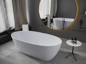 Мраморная ванна MIRAGGIO 168*83 Estella