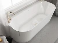 Мраморная ванна MIRAGGIO 170*75 Bali