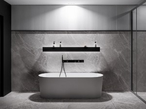 Мраморная ванна MIRAGGIO 170*70 Providence