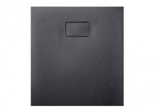 Душевой поддон ASIGNATURA Tinto 90*90 (49837002) черный матовый