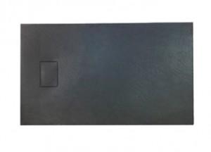 Душевой поддон ASIGNATURA Vik 120*80 (59837002) черный матовый