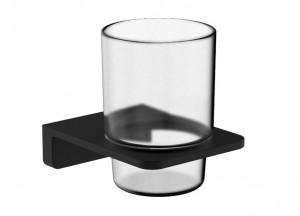 Стакан для зубных щеток VOLLE De la Noche (10-40-0020-black)
