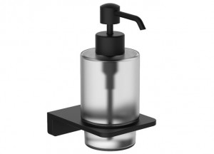 Дозатор для жидкого мыла VOLLE De la Noche (10-40-0030-black)