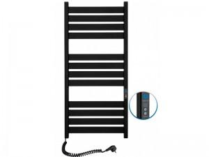 Электрический полотенцесушитель NAVIN Largo с таймером 500х1200 (12-244152-5012) черный муар