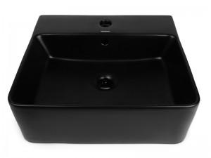 Умывальник NEWARC Countertop 46 (5025B-M) черный матовый
