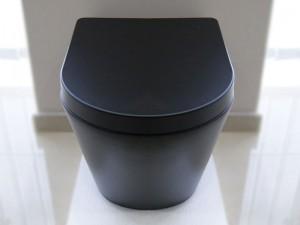 Чаша подвесного унитаза NEWARC Life Rimless (9823B-M) черный матовый