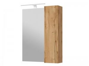 Зеркальный шкаф ЮВЕНТА Bronx (BrxMC 65) дуб вотан
