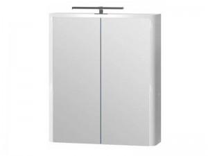 Зеркальный шкаф ЮВЕНТА Livorno (LvrMC-60) белый