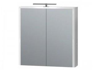 Зеркальный шкаф ЮВЕНТА Livorno (LvrMC-70) белый