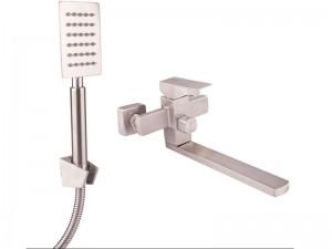 Смеситель для ванны LIDZ нержавеющая сталь (LIDZNKS103000500)