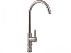 Кухонный смеситель LIDZ нержавеющая сталь (LIDZNKS113101408)