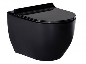 Чаша подвесного унитаза VOLLE Amadeus (3-06-055 Black)