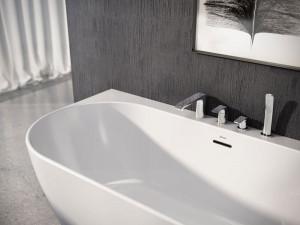 Смеситель для ванны RAVAK Flat (X070120)
