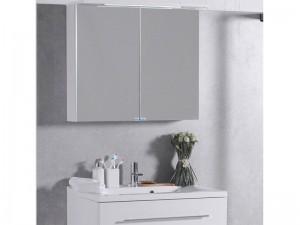 Шкаф зеркальный FANCY MARBLE белый (ШЗ-10)