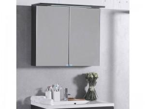 Шкаф зеркальный FANCY MARBLE венге (ШЗ-10В)