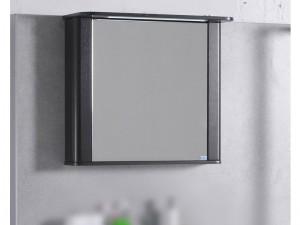 Шкаф зеркальный FANCY MARBLE венге (ШЗ-800 Carla В)
