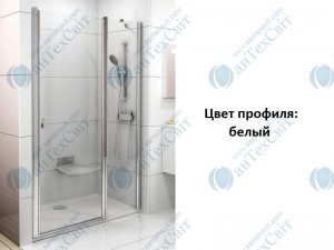 Душевая дверь RAVAK Chrome CSD2 110 (0QVDC100Z1)