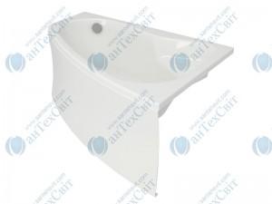 Акриловая ванна CERSANIT Sicilia 140 S301-094